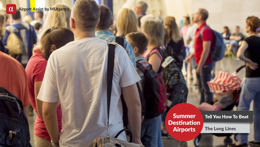 summer destination, summer, destination, summer vacation, summer holidays, long lines, airport